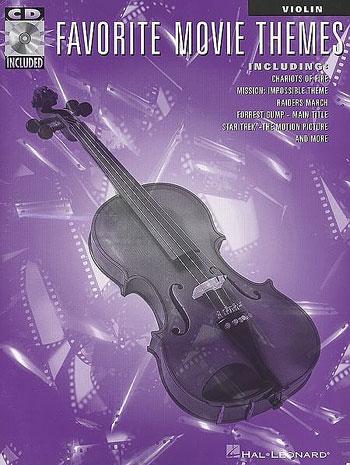 �������������favorite movie themes violin playalong ���������