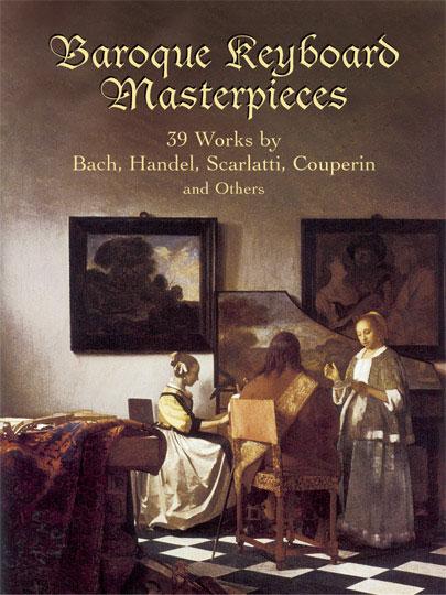 台北音樂家書房 Baroque Keyboard Masterpieces 39 Works By Bach border=