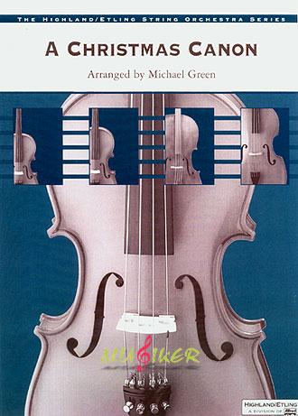 l 2 耶诞卡农 弦乐合奏曲套谱 alfred ap5699 michael green