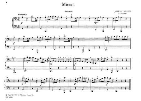回旋曲钢琴四级乐谱_曲谱分享
