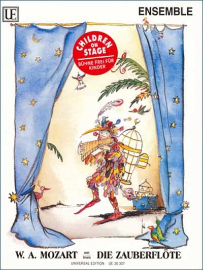 儿童音乐剧 魔笛 套谱及对白 UE UE30307 Wolfgang Amadeus Mozart