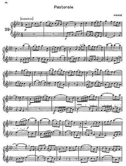 金枝欲孽笛子二重奏简谱_第4页_曲谱分享