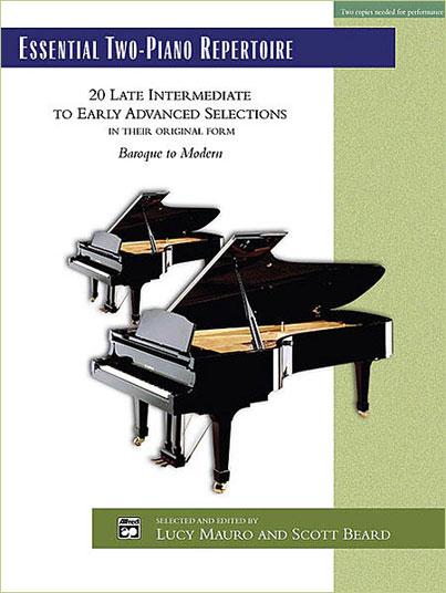 台北音樂家書房】Essential Two-Piano Repertoire - for 2Pianos/4Hands