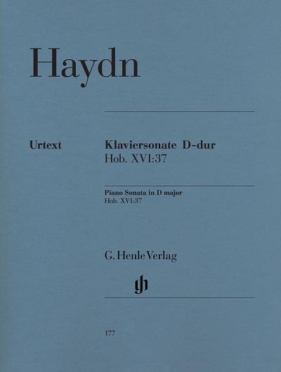 Piano Sonata D major Hob. XVI 37 D 海顿D大调钢琴奏鸣曲 G.Henle